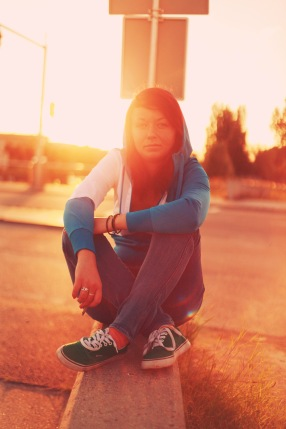 city, sunset, portrait , light, sun, laine apine photography , clothing, sitting