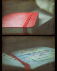 moleskine notebook red paper handwritten handwriting book ebooks photography help